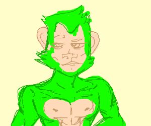 Green Sexy Ape Boi