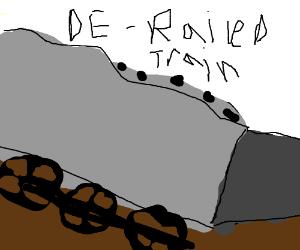 Train  carrying coal