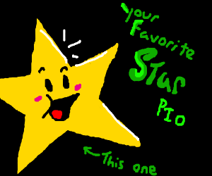 Your favorite star PIO
