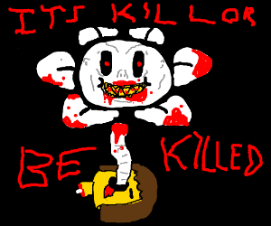 Flowey but actually scary
