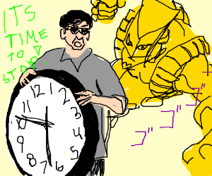 Filthy frank stops time with Za Warudo