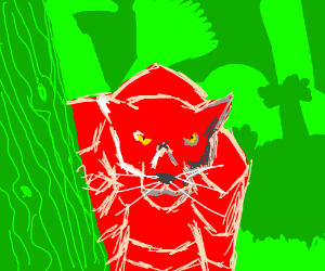 The red robo-panther has come for blood