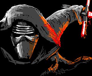 Kylo Ren close up (masked)