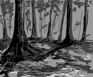 Grayscale Swamp