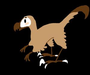 Cute Velociraptor.