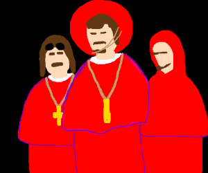 Everyone expects the Spanish Inquisition.