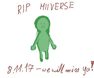 RIP MiiVerse