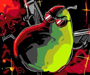 Badass Pear