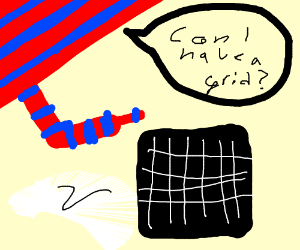 Stripes asking for Grids