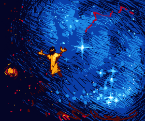 Jesus in space