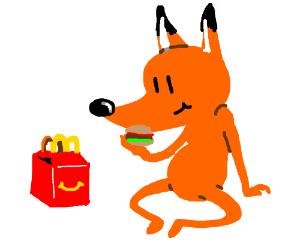 Fox likes McDonalds