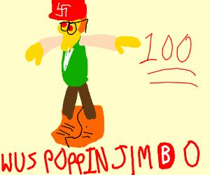 wuss poppin jimbo 100 le dank memes