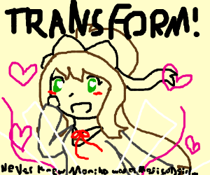 magical girl transformation