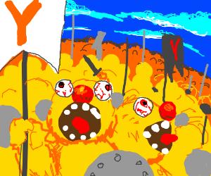 The yellmo army arises