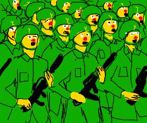 Yellmo army force