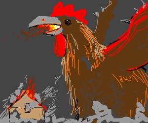 Giant Dragon Chicken