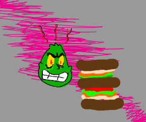the Grinch hates double sandwiches