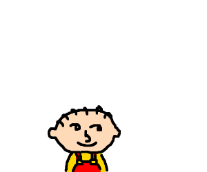 stewie with lenny face
