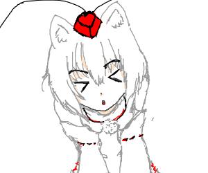an anime cat