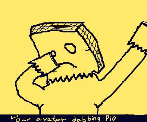 Draw your avatar dabbing, PIO