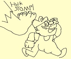Wario vs Hulk