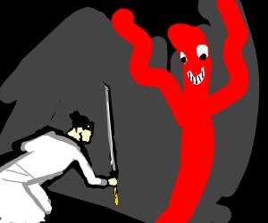 Samurai Jack vs WACKY INFLATABLE ARM TUBE MAN