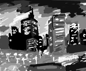 Noir Cityscape