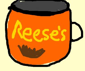 Oversized Reese's Peanut Butter Cups Mug