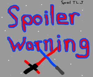 The Last Jedi SPOILER WARNING