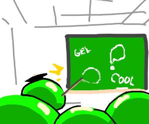 Gel teaching about gel