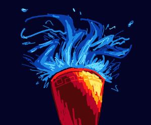 Fire goblet