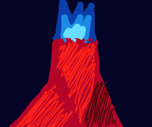 bluefire volcano