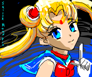 Sailor Moon PIO (pass it on)