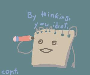 How do you get the idea? (cont. song)