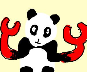 "Crap shaped Panda (""crappy"" panda)"