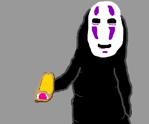 No-face offers strawberry twinkie