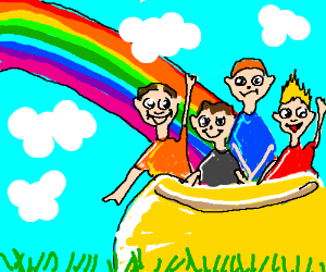 Pot of fools at the end of a rainbow