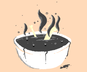 The soup of death