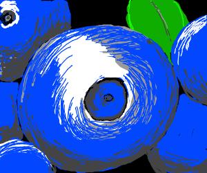 Adorable blueberry