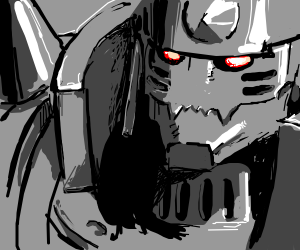 Alphonse Elric in all its glory!