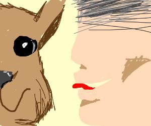 hey lil llama lemme whisper in your ear