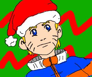 naruto - christmas theme - ho ho ho