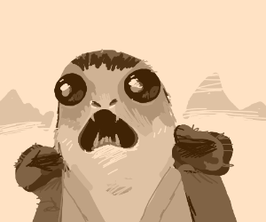 Plot twist: The last jedi is a porg!