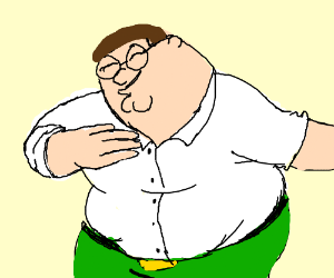 peter griffin dabbing