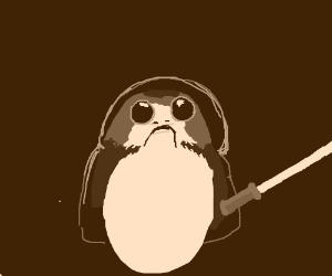 Porg Jedi
