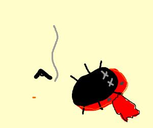 suicidal ladybug