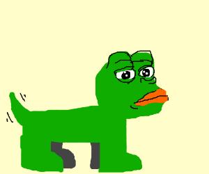 Pepe The Dog Drawception