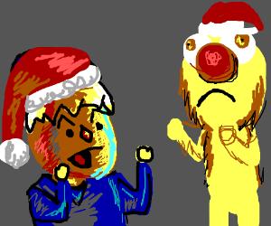 Reed Vs Yellmo Christmas Film Drawception