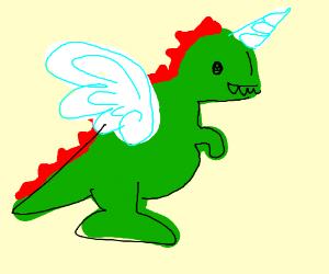 dinosaur unicorn