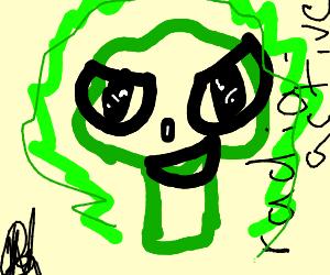 Radioactive broccoli